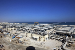 <h6>Ras Az Zawr Power and Desalination Phase 1(Desalination Group D)</h6><br><h7>Country: Saudi Arabia / Client: SALINE WATER CONVERSION CORPORATION(SWCC)<br>Company: <a href='http://www.doosanheavy.com/en/main.do' target='_blank'>Doosan Heavy Industries & Construction Co., Ltd.</a><br>Project Cost: 1,494,793 in thousand US$ / Work Duration: 2010/09/27 ~ 2016/03/27</h7>