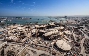 <h6>National Museum of Qatar - Main Construction PKG</h6><br><h7>Country: Qatar / Client: QATAR PETROLEUM(QP)<br>Company: <a href='http://en.hdec.kr' target='_blank'>Hyundai Engineering&Construction Co., Ltd.</a><br>Project Cost: 562,597 in thousand US$ / Work Duration: 2011/10/30 ~ 2017/06/30</h7>